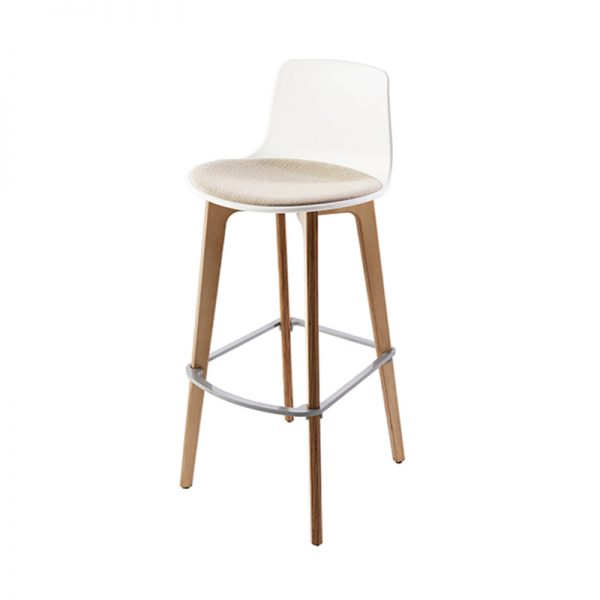 ENEA – Lottus wood barstool